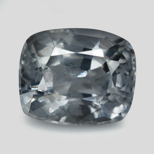 1.57 Cts Un Heated Very Rare Grey Color BURMA  Natural Spinel Gemstone