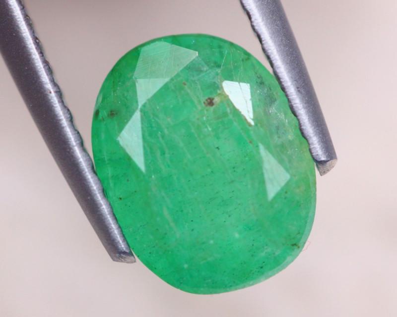 1.96Ct Natural Zambia Green Emerald Oval Cut Lot LZ6910
