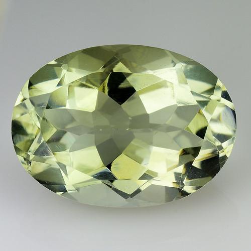 5.55 Cts Prasiolite Stunning Cut and Luster ~ PR7