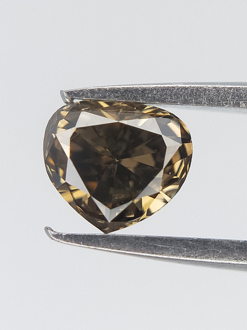 0.20 CTS , Shimmering Diamond , Pear Brilliant Cut