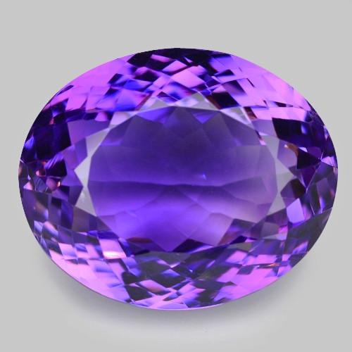 19.32 Cts Amazing Rare Purple Amethyst Loose Gemstone