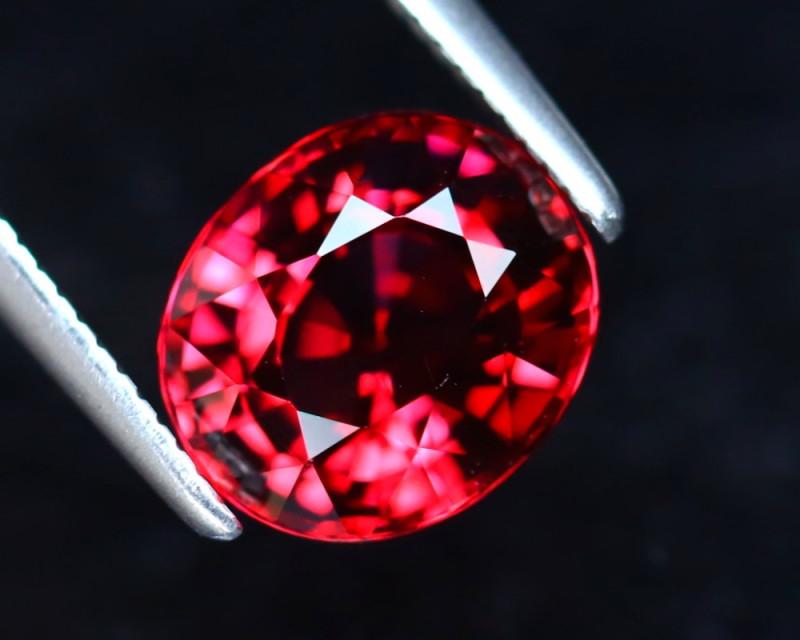 Rhodolite 2.43Ct Natural Purplish Red Rhodolite Garnet EF0729/A5