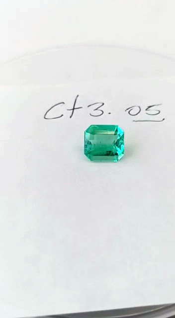 3.05ct Colombian Emerald