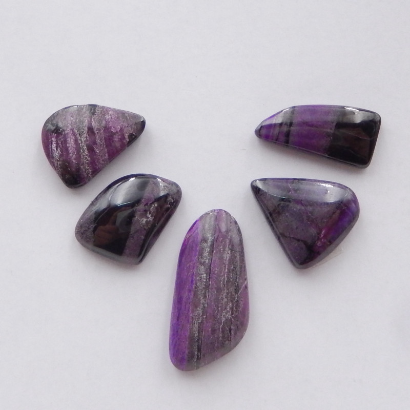 16cts Unique Sugilite,Handmade Gemstone ,Sugilite Bead ,Lucky Stone H375