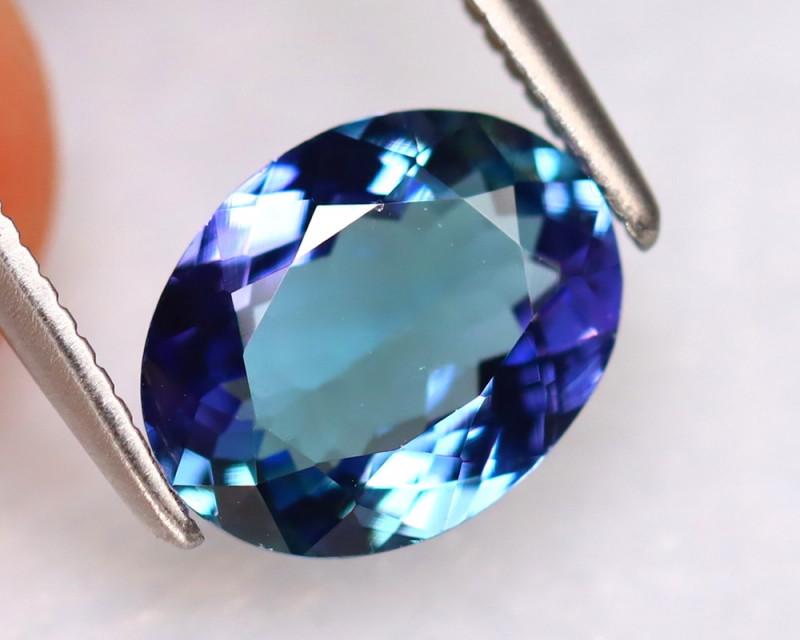 Tanzanite 1.68Ct Natural VVS Purplish Blue Tanzanite DR357/D8