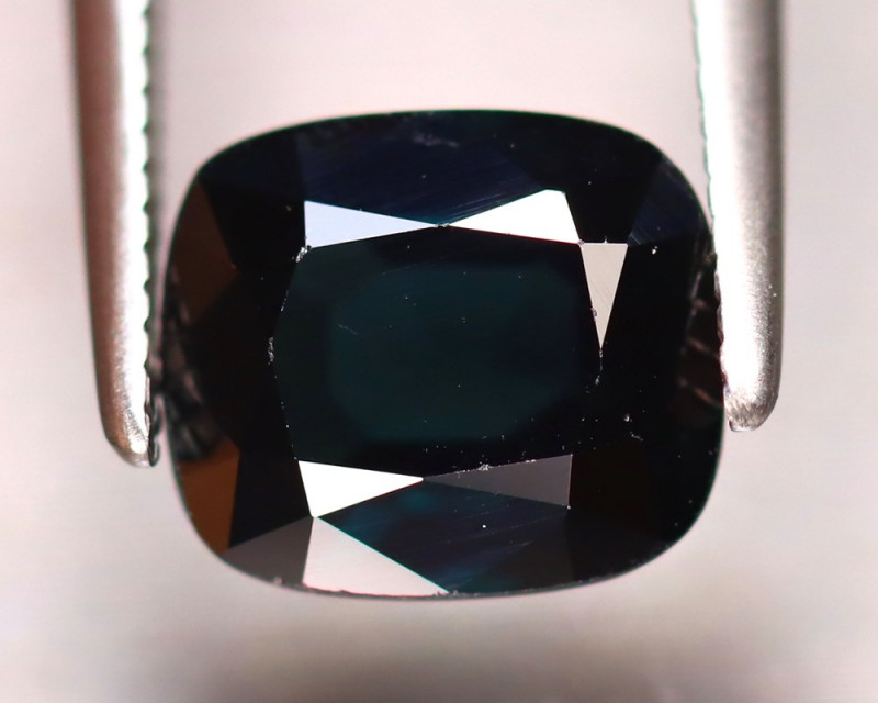Spinel 2.16Ct Mogok Spinel Natural Burmese Dark Turquoise Spinel DR361/A12