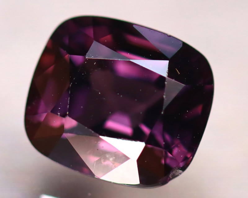 Spinel 3.15Ct Mogok Spinel Natural Burmese Purple Spinel ER240/A12