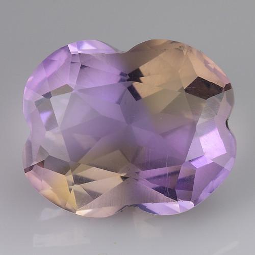5.00 Cts Bolivian Ametrine Stunning Luster & Cut Gemstone  Am30