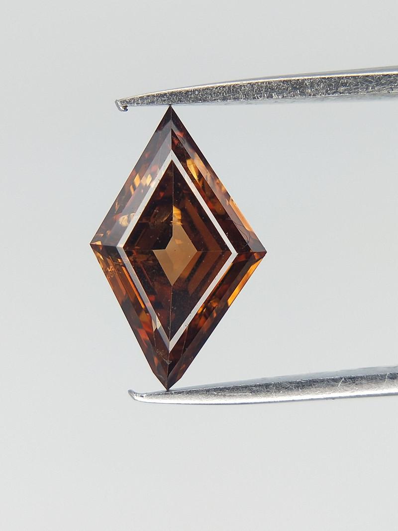 0.45 CTS , Modified Kite Brilliant cut Diamond , Natural Color Diamond