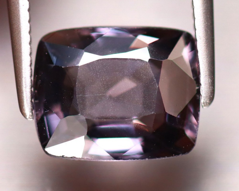 Spinel 2.64Ct Mogok Spinel Natural Burmese Titanium Purple Spinel DF1016