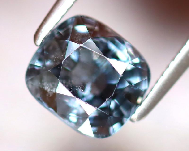 Spinel 2.29Ct Mogok Spinel Natural Burmese Titanium Blue Spinel DF1017/A12