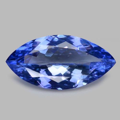 2.76 Cts Amazing rare Violet Blue Color Natural Tanzanite Gemstone