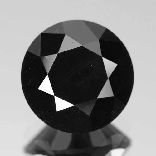 2.71 Cts Amazing Rare Fancy Black Color Natural Loose Diamond