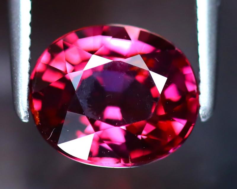 Rhodolite 2.25Ct Natural VVS Purplish Red Rhodolite Garnet EF1125/A5