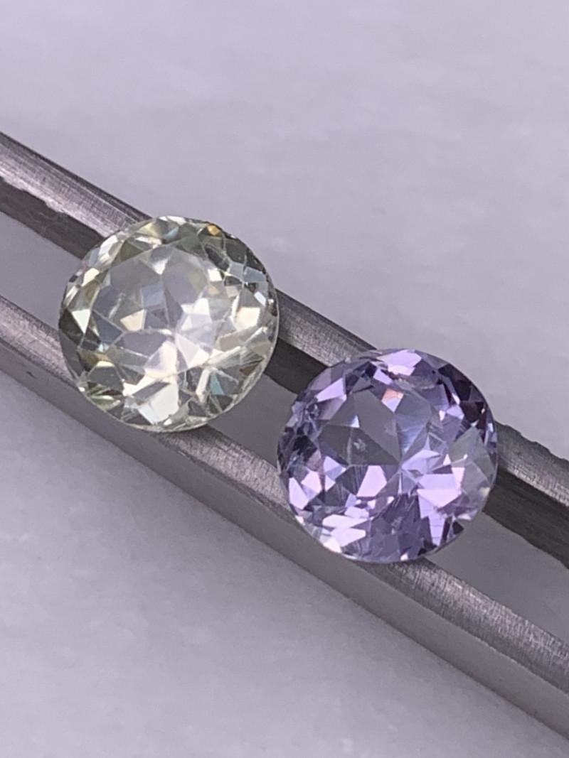 3.73 Cts AAA Grade Reverse Pair Sapphire Unheated/Untreated