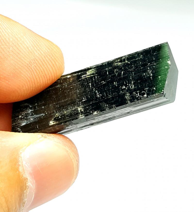 Amazing Natural bicolor Damage free Tourmaline Crystal 45Cts-P