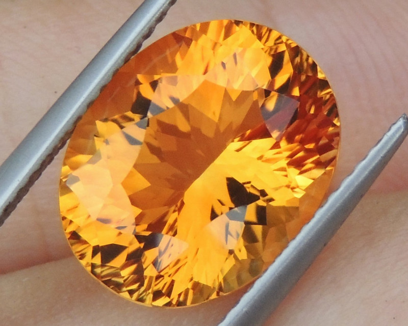 5.77cts *Lolipop Yellow* Citrine, Top  Cut