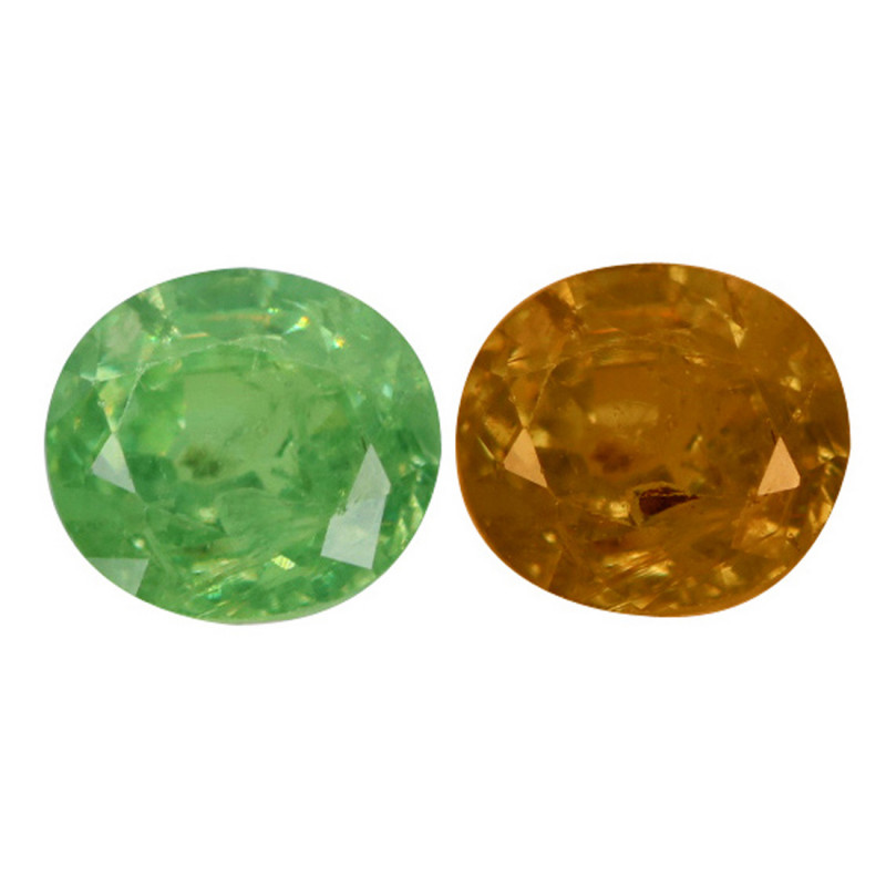 0.75 Cts Untreated Color Changing Natural Demantoid Garnet Gemstone