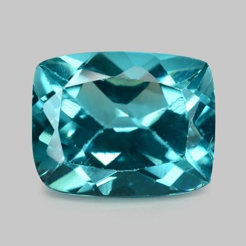 2.44 Cts Un Heated Natural Greenish Blue  Apatite Loose Gemstone