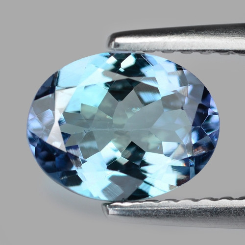1.52 Cts Amazing rare Greenish Blue Color Natural Tanzanite Gemstone