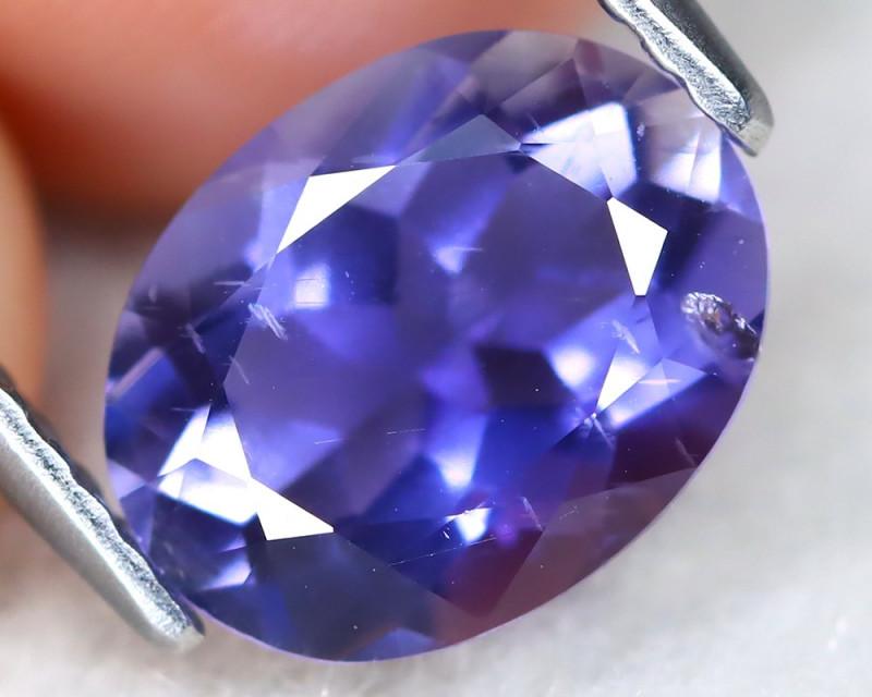 Iolite 1.48Ct Oval Cut Natural Purplish Blue Color Iolite A1216