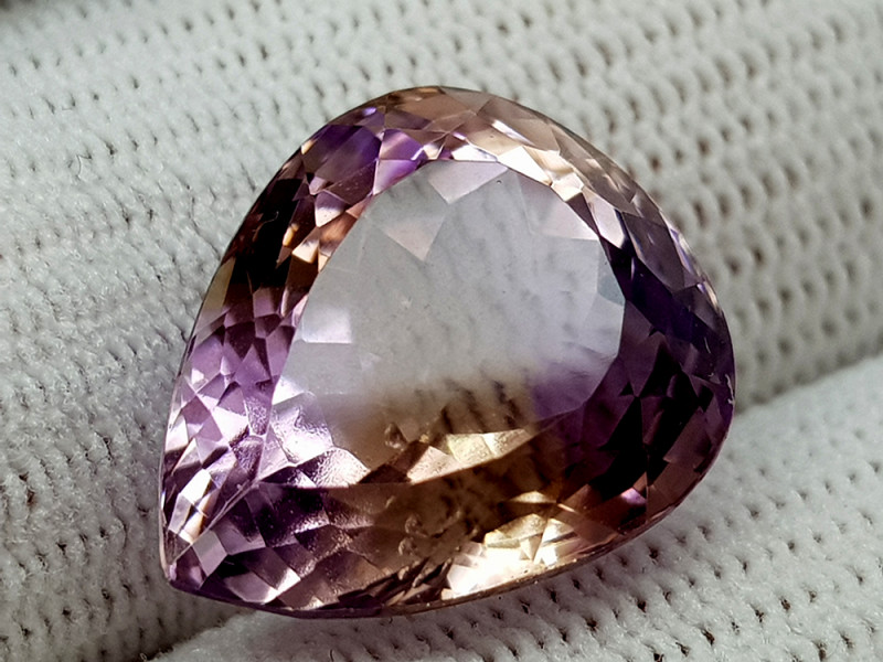 14CT BOLIVIAN AMETRINE BEST QUALITY GEMSTONE IIGC020