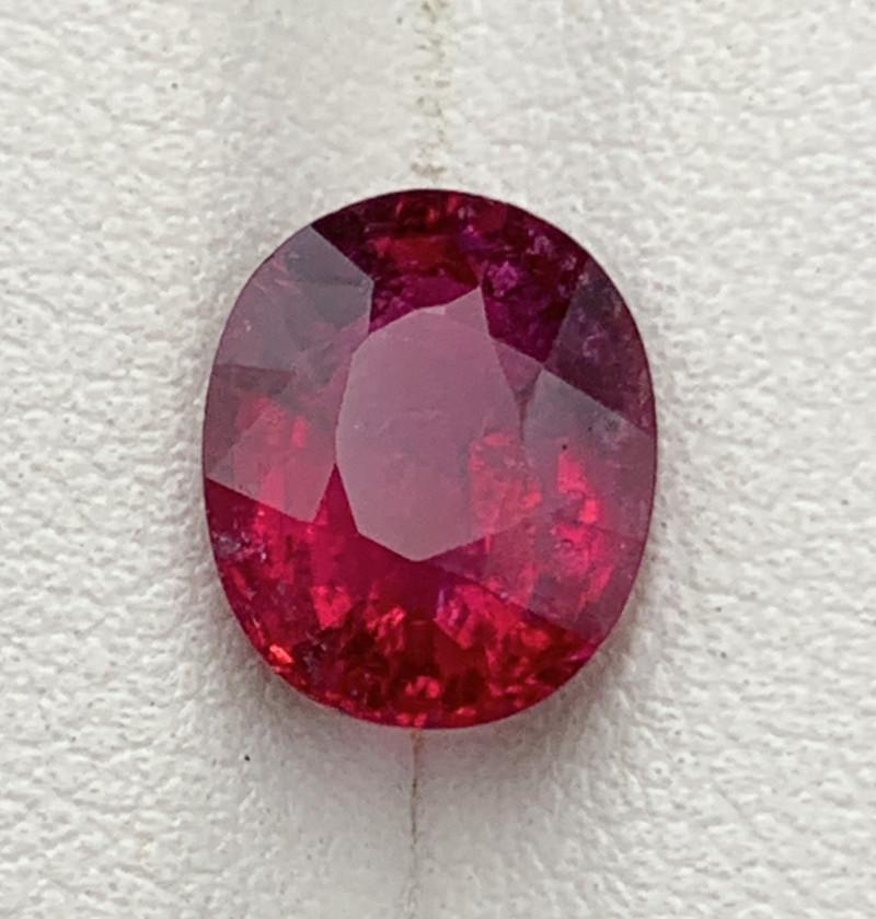 2.67 Carat Rubellite Tourmaline Gemstone