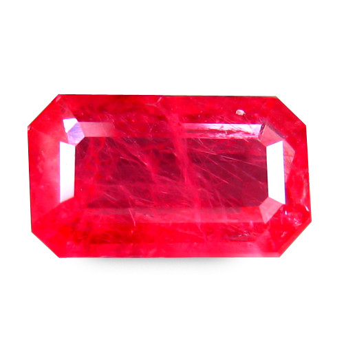 Rashberry Pink Brazilian Rhodonite 1.21 Cts Antique Step Cut Octagon BGC89