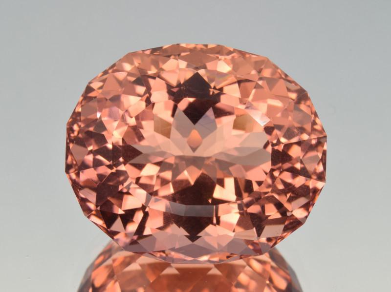 Natural Morganite 37.38 Cts Top Color and Precision Cut