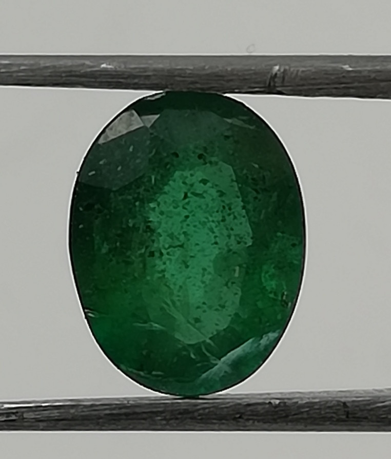 Emerald, 0.855ct from Zambia, great colour awesome gemstone!!