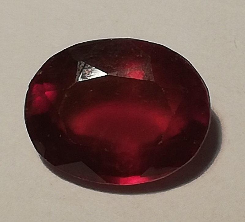 Hessonite, 3.46ct, really clean and good cut stone!!