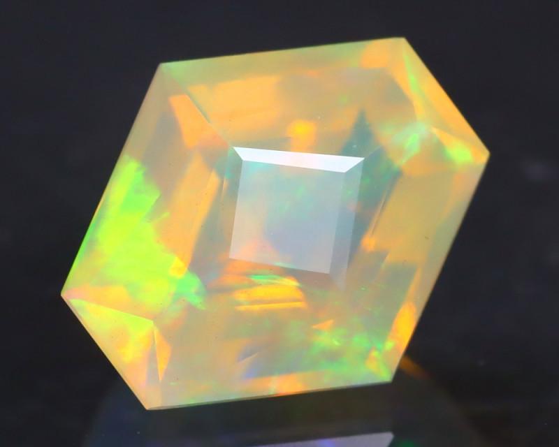 Opal 1.53Ct Precision Master Cut Natural Ethiopian Welo Opal AT1099