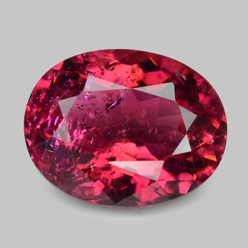2.28 Cts Un Heated Pink Color Natural Rubellite  Loose Gemstone