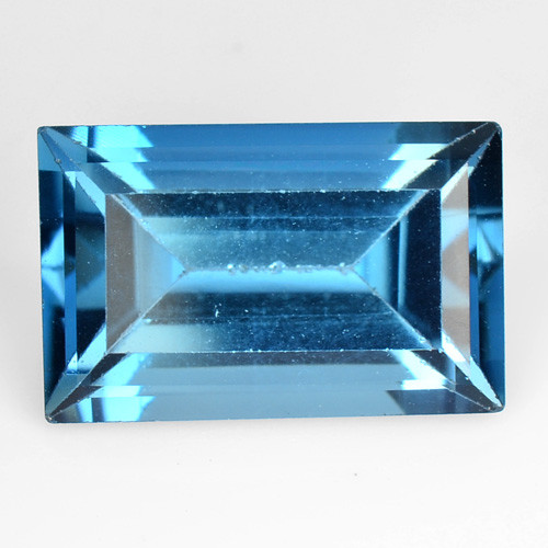 3.65 Carat London Blue Natural Topaz Gemstone