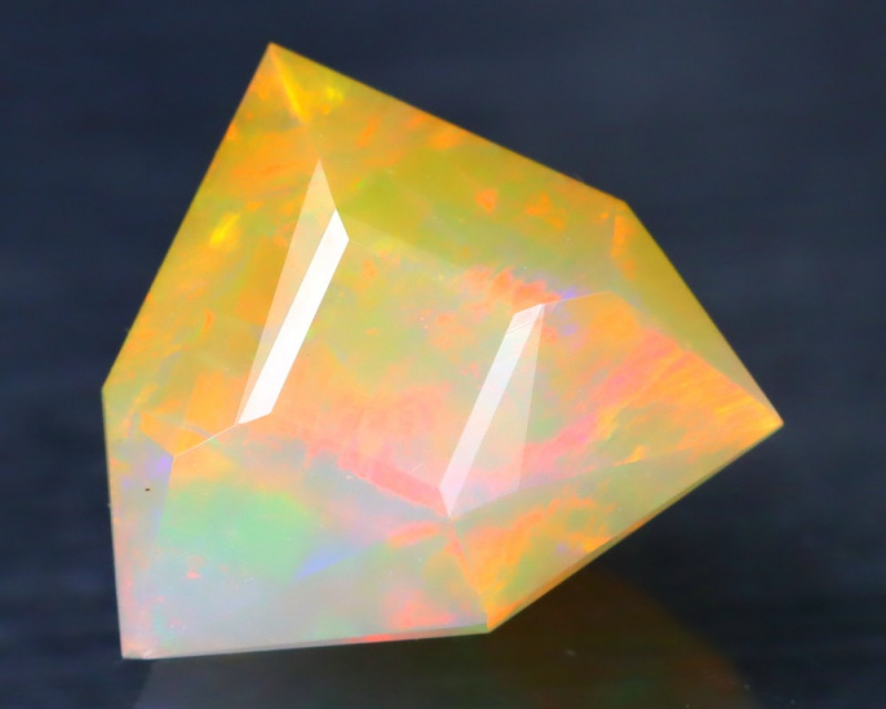 Opal 1.83Ct Precision Master Cut Natural Ethiopian Welo Opal AT1121