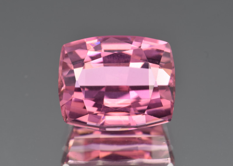 Natural Pink Tourmaline 8.99 Cts, Precision Cut, Top Quality Gemstone
