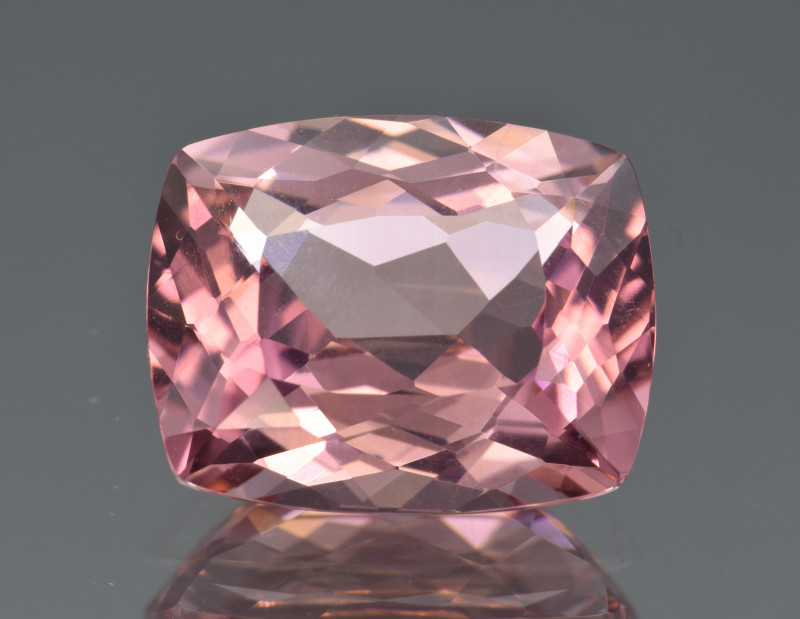 Natural Pink Tourmaline 9.12 Cts, Precision Cut, Top Quality Gemstone