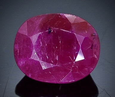 2.24 Crt Ruby  Faceted Gemstone (Rk-96)