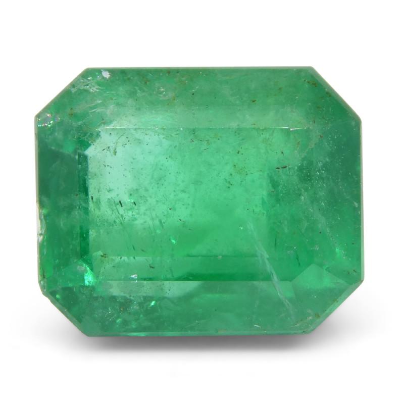 5.26ct Octagonal / Emerald Cut Emerald