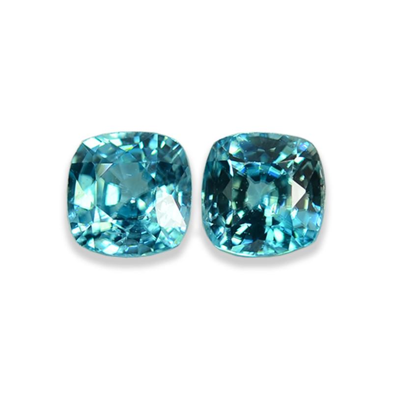2.07 Cts Dazzling Lustrous Cambodian Blue Zircon