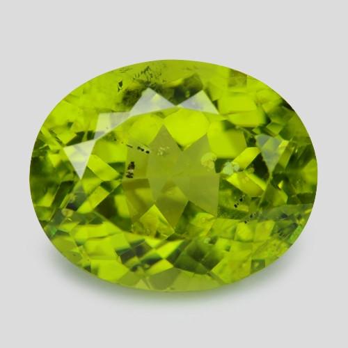 3.74 Cts Green Color Natural BURMA Peridot Gemstone