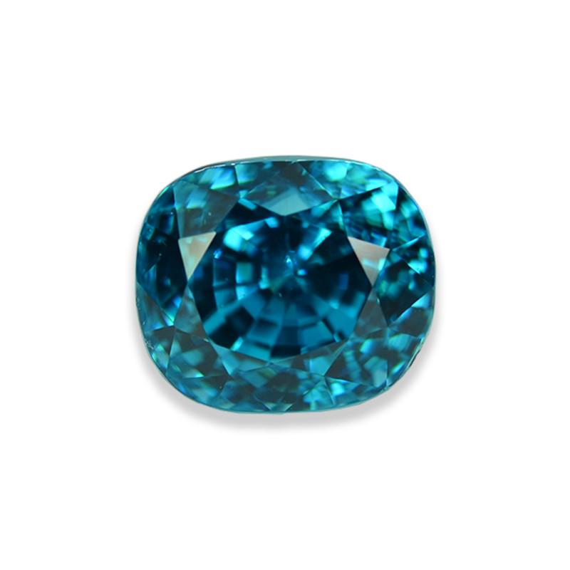 7.95 Cts Stunning Attractive Lustrous Blue Zircon