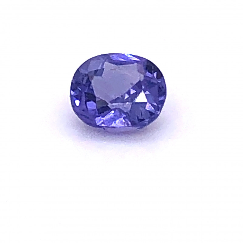 GIA Certified 1.20 Carat Violet Oval Cut Sapphire With No Treatment/Enhance