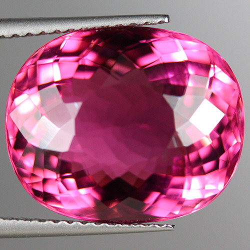 10.80CT15X12MM Collector Grade  AAA Extra Fine Rubellite Tourmaline -PTM111