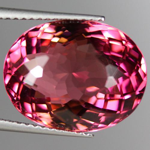 12.20 CT Fine Grade Hot Pink ELBAITE TOURMALINE Mozambique-PTM115
