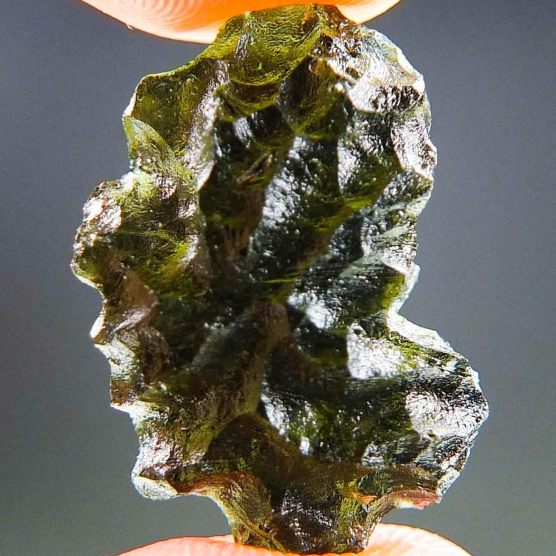 Moldavite from Besednice - CERTIFIED