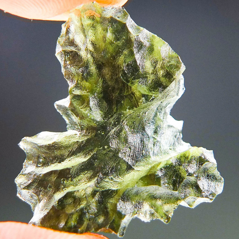 Certified Moldavite from Besednice quality A+/++