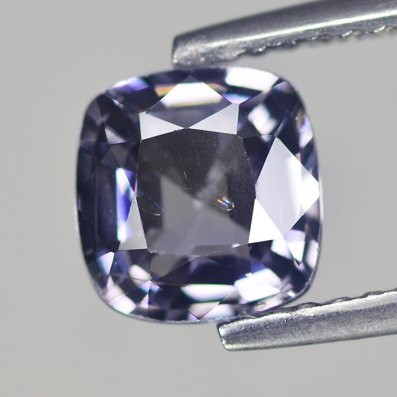 Burmese SPINEL 1.201 Cts Silver Grey Antique Step Cut BGC439