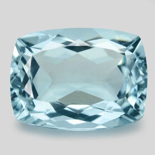 5.14 Cts Un Heated  Blue  Natural Aquamarine Loose Gemstone