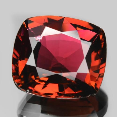 4.47  Cts Unheated Natural Cherry Pinkish Red Rhodolite Garnet Gemstone
